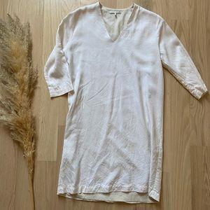 OAK + FORT   Cream Shift Dress